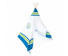 Hape Tenda Indiana Teepee per Bambini Blu E4308