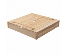 Swing King Sabbiera Robert in Legno 120x120x25 cm 7850036.BL