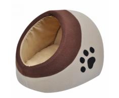 vidaXL Cuccia calda di pile per gatti M