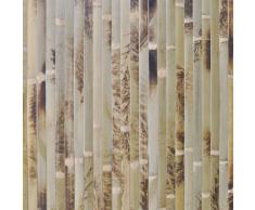 vidaXL Carta da parati in bambù 1,5 x 5 m tigre