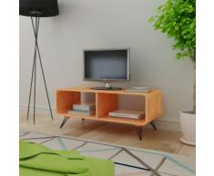 vidaXL Mobile Per Tv 90x39x38,5 cm In Legno Marrone