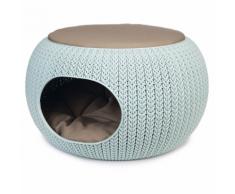 """Curver Cuccia per Animali """"Cozy"""" 55x35 cm Blu Chiaro"""