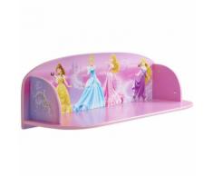 Disney Mensola per Bambini Princess 59x20x20 cm Rosa WORL660004