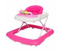 vidaXL Girello per bambini rosa