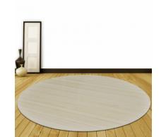 vidaXL Tappeto rotondo in bambù naturale 180 cm