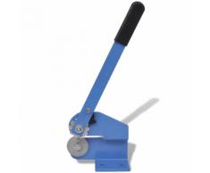 vidaXL Cesoia a leva manuale con manico lungo per metalli