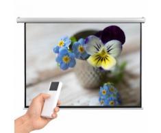 vidaXL Schermo per Proiettore Elettrico con Telecomando 200x153 cm 4:3