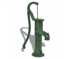 vidaXL Pompa d'acqua manuale da giardino in ghisa