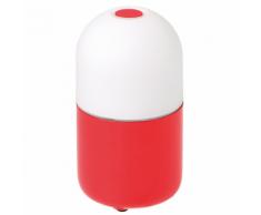 SMOOZ Luce notturna a LED / Lampada da tavolo Bean rossa 4503451