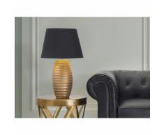 Beliani Lampada - Da tavolo comodino Color oro EBRO