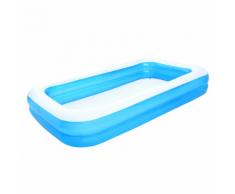 Bestway Piscina gonfiabile blu / bianco 305 x 183 46 cm 54150