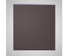 vidaXL Tenda a rullo oscurante 40 x 100 cm Caffè