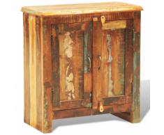 vidaXL Armadietto in legno anticato con due porte stile antico Vintage