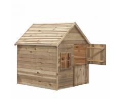 Swing King 7850002 Casetta da giardino per bambini legno Louise Deluxe
