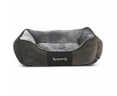 Scruffs & Tramps Cuccia Cani Chester Taglia M 60x50 cm Grigio 1166