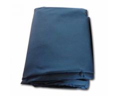 vidaXL Telone di ricambio per gazebo in canapa blu