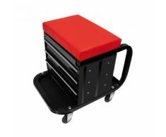 ProPlus 580526 Sgabello officina portautensili con ruote