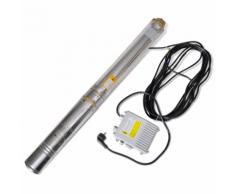 vidaXL Pompa sommergibile per pozzo profondo 750W 67m