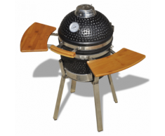 vidaXL Barbecue Kamado in ceramica griglia fumatore 76 cm