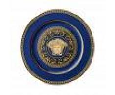 Versace Piatto segnaposto Ikarus Medusa Blue 30cm