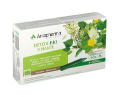 Arkopharma Arkofluidi Detox Bio 9 Piante 300 ml Soluzione orale