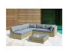Salotto Da Giardino Modello Bali Gcv17031v0 Composto Da 4 Pz Codice 95176