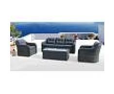 Salotto Da Giardino Modello Formentera Gcv17072v Composto Da 4 Pz Codice 95174