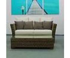 Arredo Giardino Salotto Open Wa0461 Tavolino Con Vetro Cm 120x60x30h