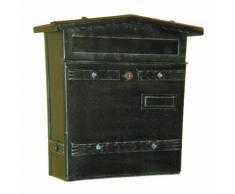 6023 Cassetta Postale in Ferro Battuto Artigianale Porta Buste e Giornali Lorenz