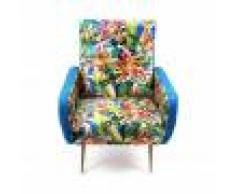 Seletti poltrona Flowers with holes Toiletpaper