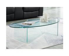 Tavolino in Vetro temperato e Vetro - MERYL