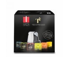 Starter Kit: Macchina Espressina - 60 Capsule Espresso - 60 Capsule di Tè