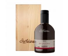 Scatola in legno da 1 bottiglia - Olio EVO Don Gioacchino GRAN CRU 500 ml