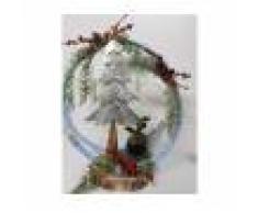 La Mimosa Alberello Di Natale Con Decorazioni Natalizie