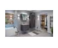 emotion Set di mobili da bagno Firenze 70 (4 parti/C) antracite e armadio a specchio