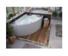 emotion Vasca idromassaggio Deluxe Royal XL 1800 ULTRA a dx (L/L/A) 180x130x70cm