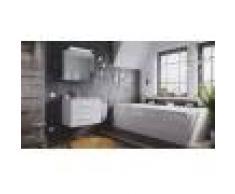 emotion Set di mobili da bagno Firenze 70 2 parti rovere chiaro e armadio specchio