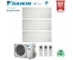Daikin Climatizzatore Condizionatore Daikin Bluevolution Trial Split Inverter Stylish White R-32 Wi-Fi 9000+9000+9000 Con 3mxm68n 9+9+9 Ftxa-Aw -Garanzia Italiana