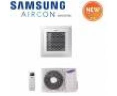 Samsung Climatizzatore Condizionatore Samsung Inverter Windfree Cassetta 4 Vie 36000 Btu Ac100nn4dkh Monofase Con Comando Wireless E Pannello Incluso - New