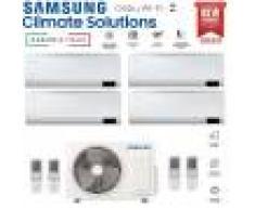 Samsung Climatizzatore Condizionatore Samsung Inverter Quadri Split Cebu Wi-Fi 7000+7000+9000+18000 Con Aj080txj R-32 Classe A++ Wifi - New 2020 7+7+9+18
