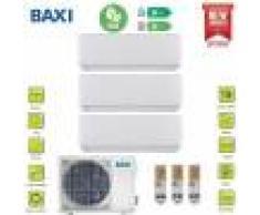 Baxi Climatizzatore Condizionatore Baxi Inverter Trial Split Astra 7000+7000+9000 Con Lsgt70-3m R-32 Wi-Fi Ready- New 2020 7+7+9