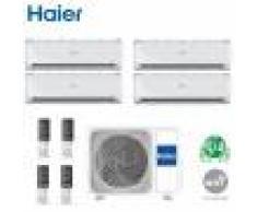 HAIER Climatizzatore Condizionatore Haier Quadri Split Inverter Tundra 2.0 R-32 7000+9000+9000+18000 Con 4u75s2sr2fa Wi-Fi Optional 7+9+9+18