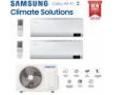 Samsung Climatizzatore Condizionatore Samsung Inverter Dual Split Cebu Wi-Fi 7000+9000 Con Aj050txj R-32 Classe A+++ Wifi - New 2020 7+9