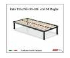 ErgoRelax Rete per materasso a 14 doghe in faggio VIENNA da cm 115x190/195/200 100% Made in Italy