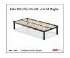 ErgoRelax Rete per materasso a 14 doghe in faggio VIENNA da cm 105x190/195/200 100% Made in Italy