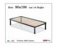 ErgoRelax Rete per materasso a 14 doghe in faggio VIENNA 90x190 cm. 100% Made in Italy