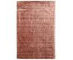 RugVista Tappeto Brooklyn 250X350 Sala Da Pranzo Monocolore Rosso Scuro/Marrone Chiaro Grandi