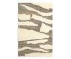 RugVista 160X230 Tappeto Moderno Fatto A Mano Lana Bianco/Creme/Beige/Grigio Chiaro