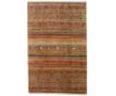 Annodato a mano. Provenienza: Afghanistan 199X303 Tappeto Shabargan Moderno Fatto A Mano Marrone Chiaro/Marrone (Lana, Afghanistan)