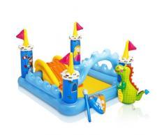 Piscina gonfiabile bambini Intex 57138 Fantasy Castle castello gioc...